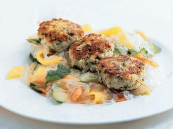 "Asian Chicken and Water Chestnut Patties"" from Cookstr.com #cookstr"