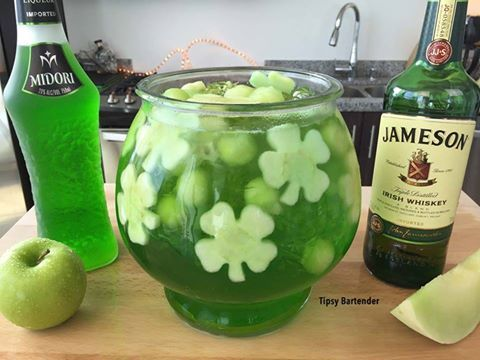 25 best ideas about fishbowl drink on pinterest fish for Jameson mixed drinks recipes
