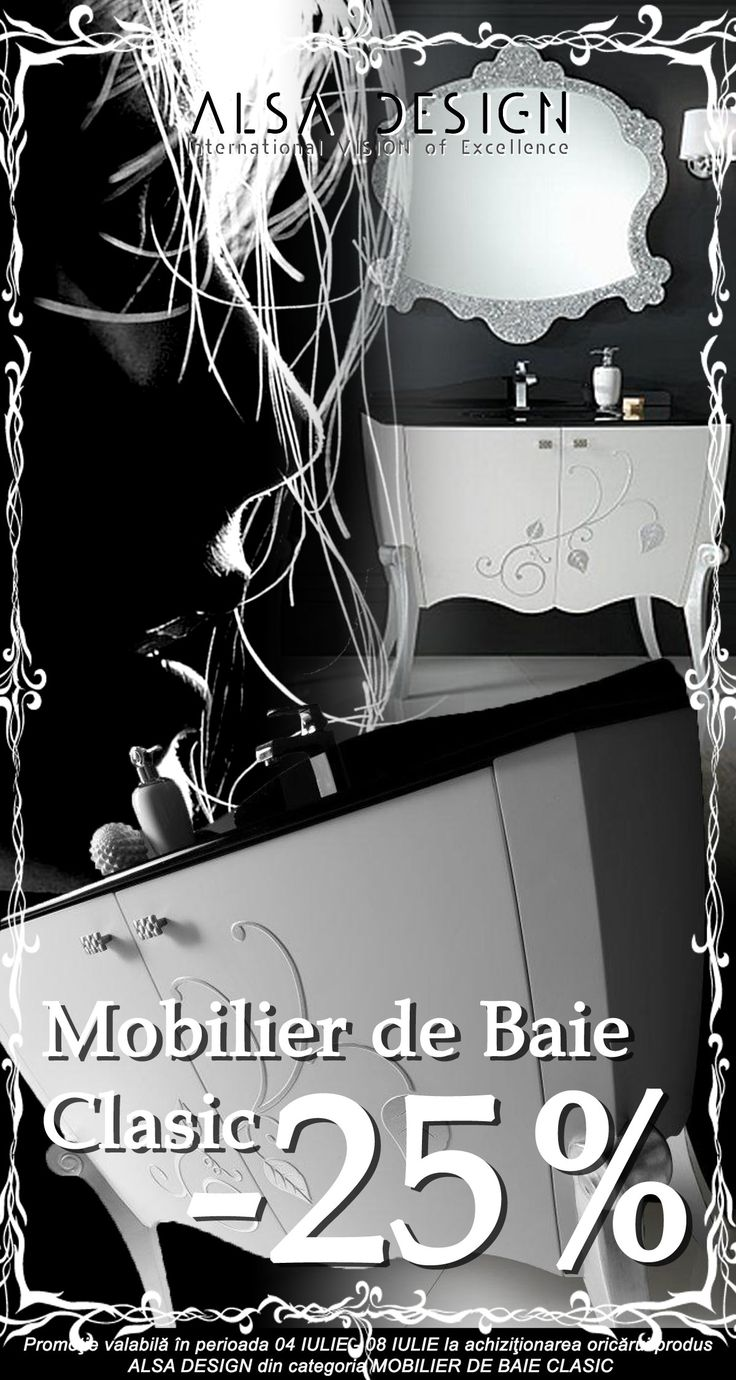 MOBILIER DE BAIE CLASIC http://www.alsadesign.ro/
