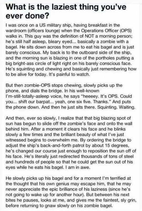 Best Funny Paragraphs Images On Pinterest Jokes Haha And - 28 hilarious random acts of laziness 4 cracked me up