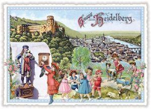 tausendschön postkarten - Heidelberg