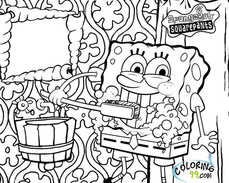 #cast #coloring #pages #spongebob 2020 | Coloring pages ...