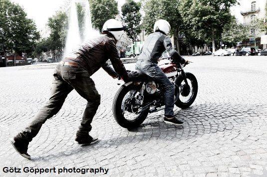 Pantalon moto // Uglybros Motor Pool - https://4h10.com/2012/07/pantalon-moto-uglybros-motor-pool/