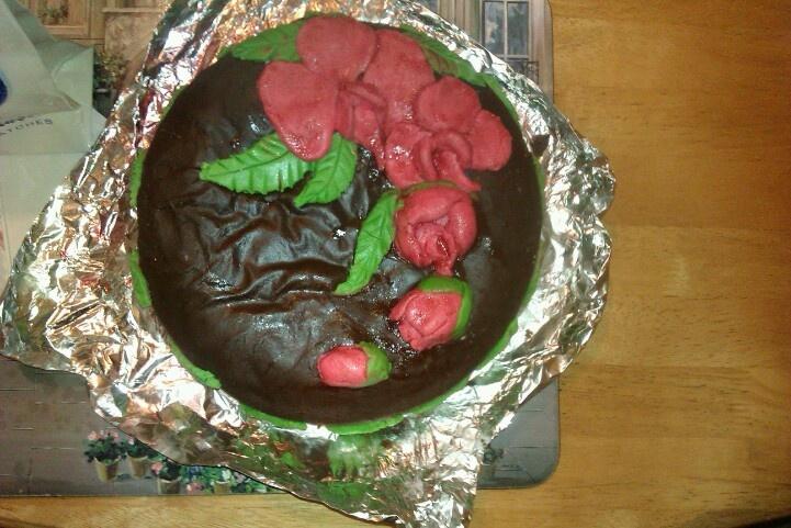 My nans birthday cake
