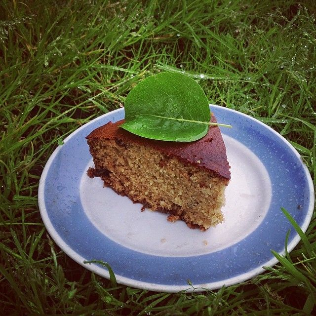 Oatmeal cake with raisins, vanilla and orange zest / рецепт кекса прост: 2 яйца взбить с 2/3 стакана меда( или сахара) добавить 2/3 стакана ...