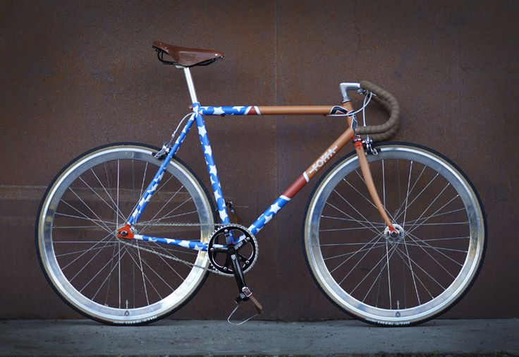 By Foffa bikes – bespoke classic geared and single speed bikes.