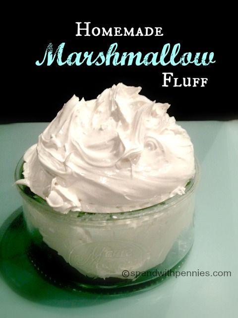 Homemade marshmallow fluff, Homemade marshmallows and Marshmallows on ...
