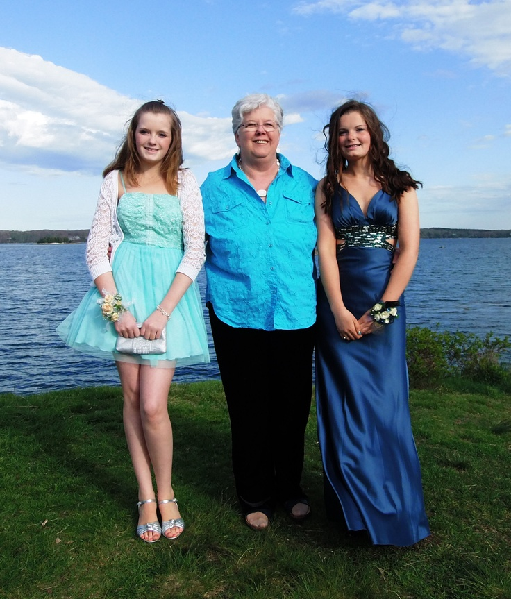 Me, Jessica and Shannon (granddaughters)