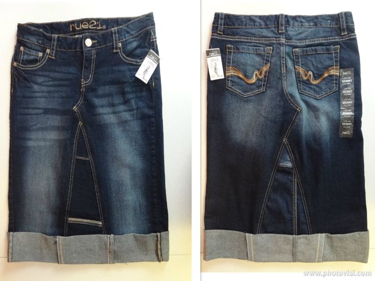 35 If Local 4070 Shipped Juniors Size 5 6 New With Tags Jean SkirtsBlue JeansSkinny JeansRepurposedBlue