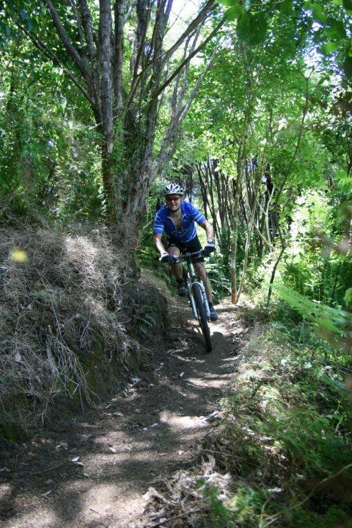Waiheke mountain biking track