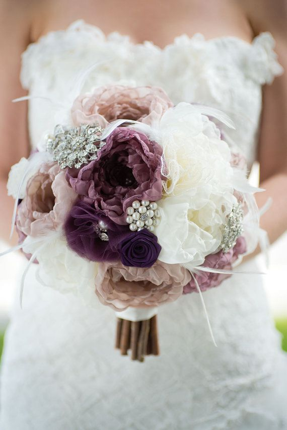 fabric wedding flowers 17 best ideas about fabric flower bouquets on 3964