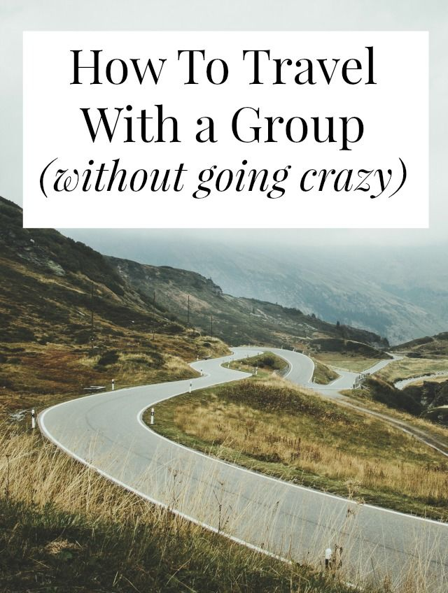 A great list of practical tips for travelling with a group and having as much fun as possible.