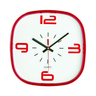 arco red clock 10