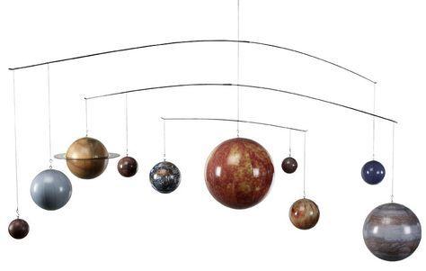 Mobile Globe: le Système Solaire de AM.