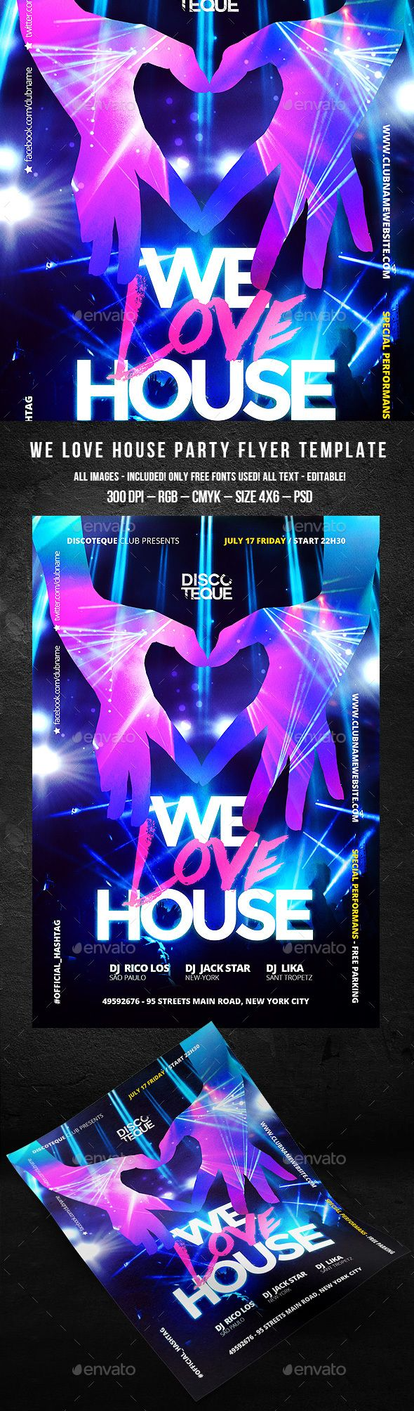 159 best images about Best Club Flyers on Pinterest