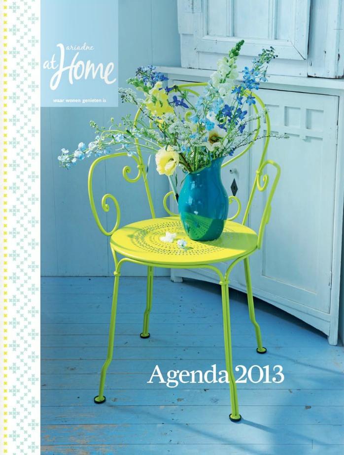 De ariadne at Home agenda 2013 ♥ Styling Linda van der Ham, Photo Dennis Brandsma
