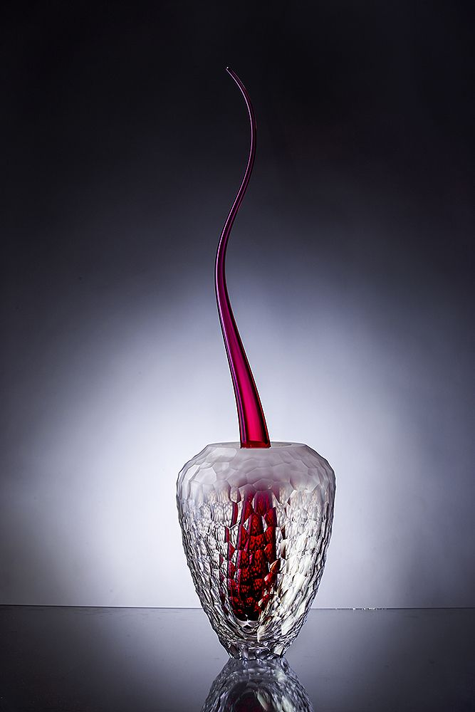 Glass vase - Mission by Filip Dobias