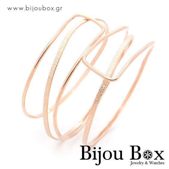 Bangle bracelet from rose gold plated bronze Βραχιόλι από ρόζ επίχρυσο μπρούτζο Check out now... www.bijoubox.gr #BijouBox #Bracelet #Βραχιόλι #Handmade #Χειροποίητο #Greece #Ελλάδα #Greek #Κοσμήματα #MadeinGreece #OnlyLove #RedGold #Goldplated #Luxus #Passion #jwlr #Jewelry #Fashion #GoodVibes