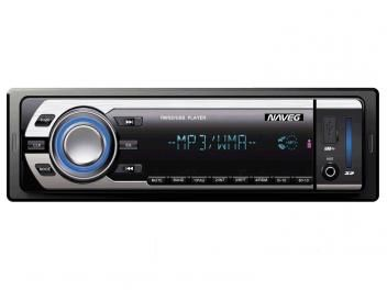 Oferta da Semana!-Som Automotivo Naveg NVS 3066 MP3 Player - Rádio FM Entrada USB Micro SD Auxiliar