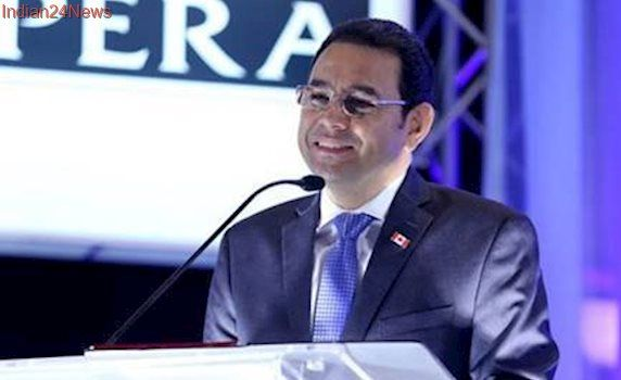 Guatemala President Jimmy Morales rejects coup rumors amid scandals