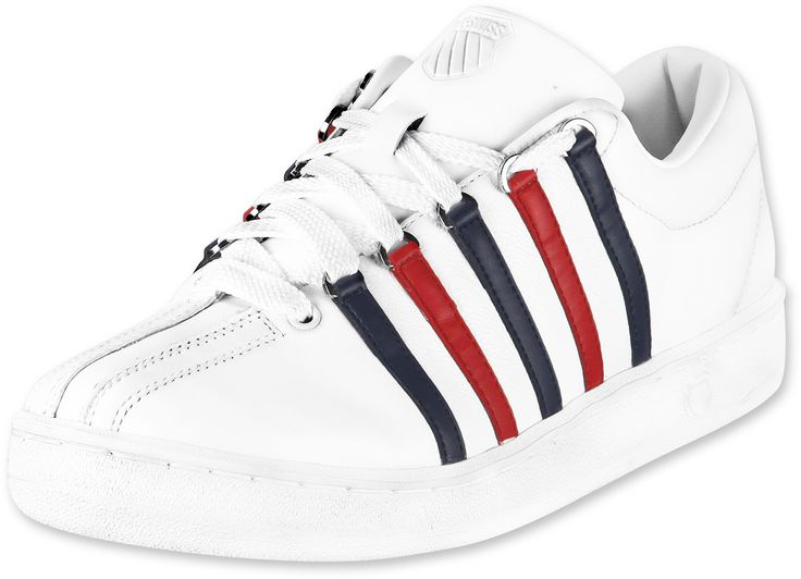 K-Swiss The Classic II Low in White Pine and Stingray, Weiß, 41