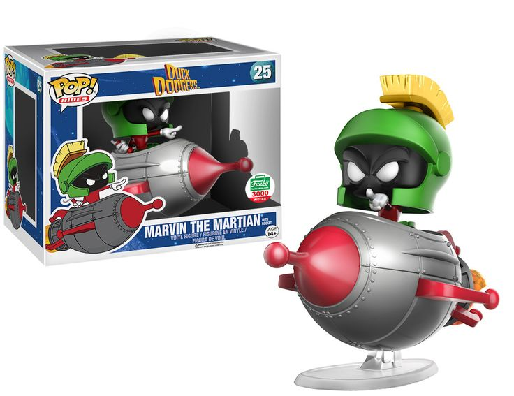 Pop! Rides - Duck Dodgers - Marvin the Martian with Rocket