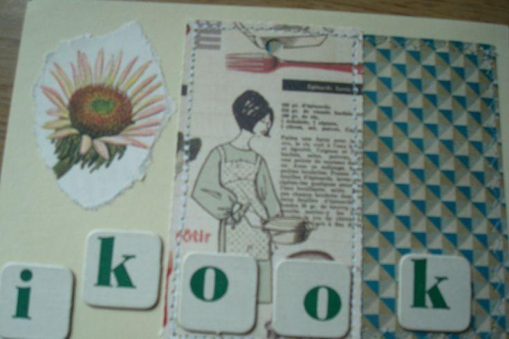 flow scheurkalender en vintage letters van spelletje