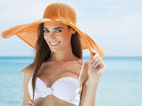 Normaler Hauttyp: Benutze anfangs eine Sonnencreme mit LSF 25 und später kannst du zu niedrigeren Faktoren greifen.  Unser Lichtschutzfaktor-Tipp: FSK 25 - 10