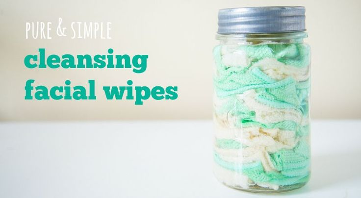 Homemade Gentle Cleansing Facial Wipes