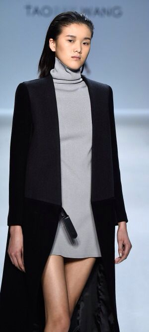 NY: Taoray Wang - Runway - Mercedes-Benz Fashion Week Fall 2015