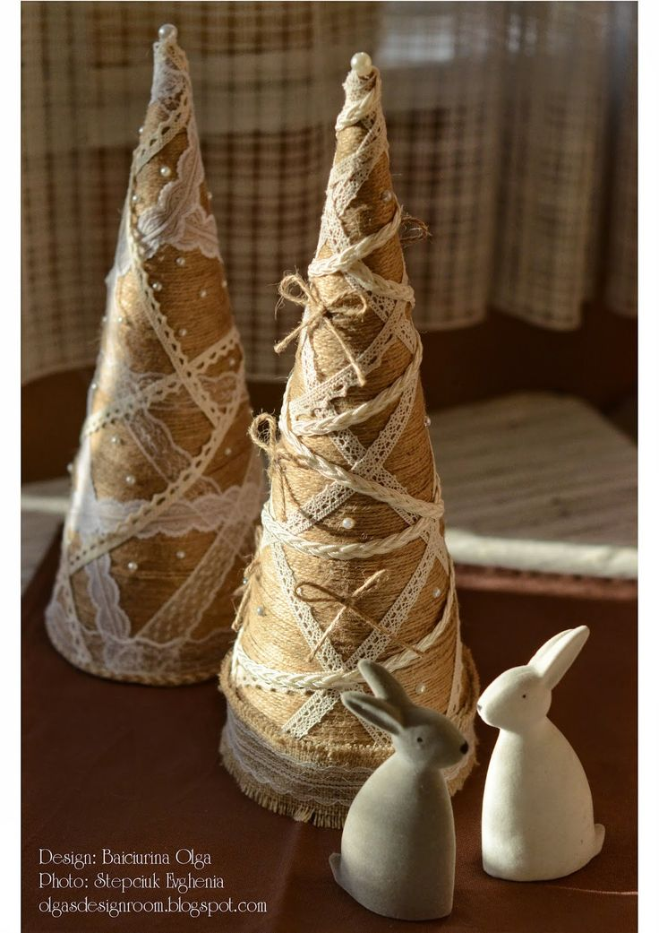 Baiciurina Olga's Design Room: Новогодняя елочка своими руками-Hand Made Christmas Tree