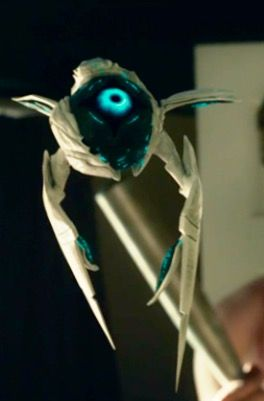 Steel, a techno-organic extraterrestrial from the movie Max Steel, 2016.