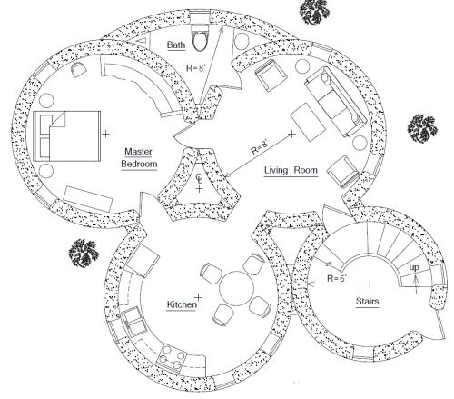 Circle House Plans 1000 Ideas About Round House On Pinterest Dome Homes