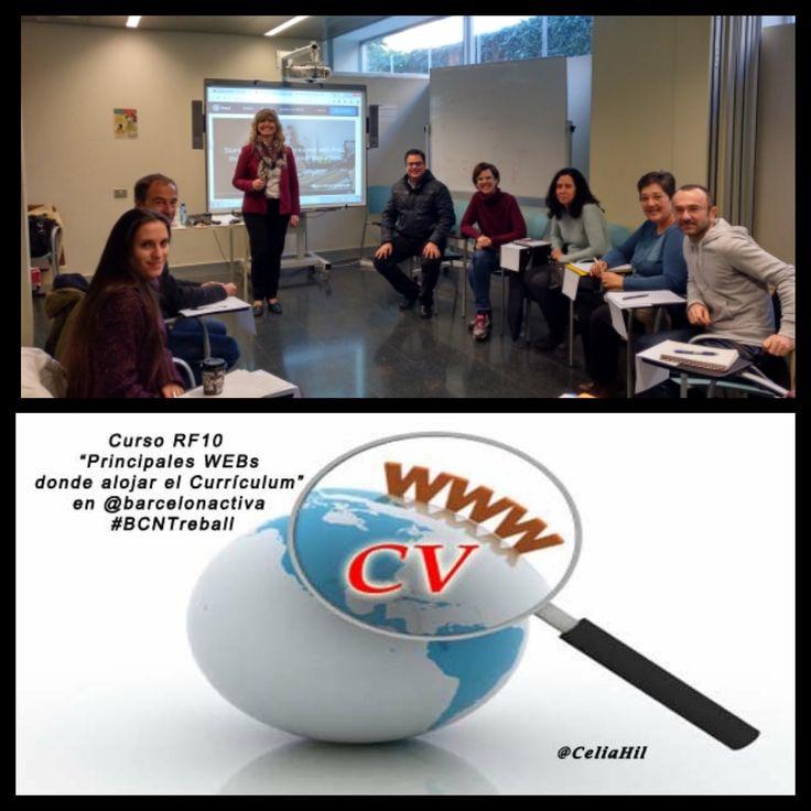 Genial chic@s!!! Ya conocemos más WEB's donde tener nuestro Currículum  Inscripción gratuita al próximo curso RF10 WEB's donde alojar el CV del 16 de enero en Barcelona Activa - #AjuntamentDeBarcelona aquí  #Barcelona #BCN #BCNTreball #Ocupació #Feina #Treball #OrientacióLaboral #Currículo #RRHH #RecursosHumans #RecurosHumanos #OrientaciónLaboral #Empleo #Trabajo #CeliaHil #OrientaciónProfesional #BuscarEmpleo