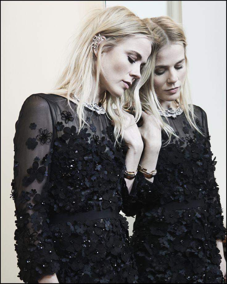 Ilse DeLange, dress by Claes Iversen