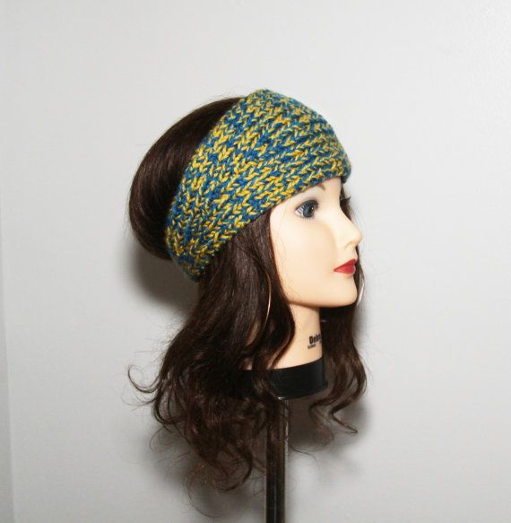 Knit Hair Band / Knitted Headband / Knit Ear by GlamourRave, $20.00