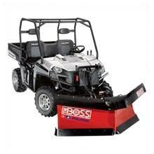Polaris 2877048 BOSS Lift and Carry V-Plow