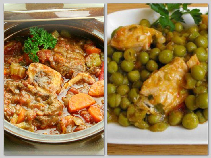 2 remek ötlet hétvégére: lecsós csirke és zöldborsós csirke!
