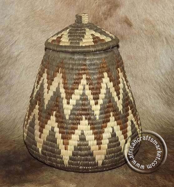 African Baskets With Lids: Pin By Africancraftsmarket.com On African Woven Baskets