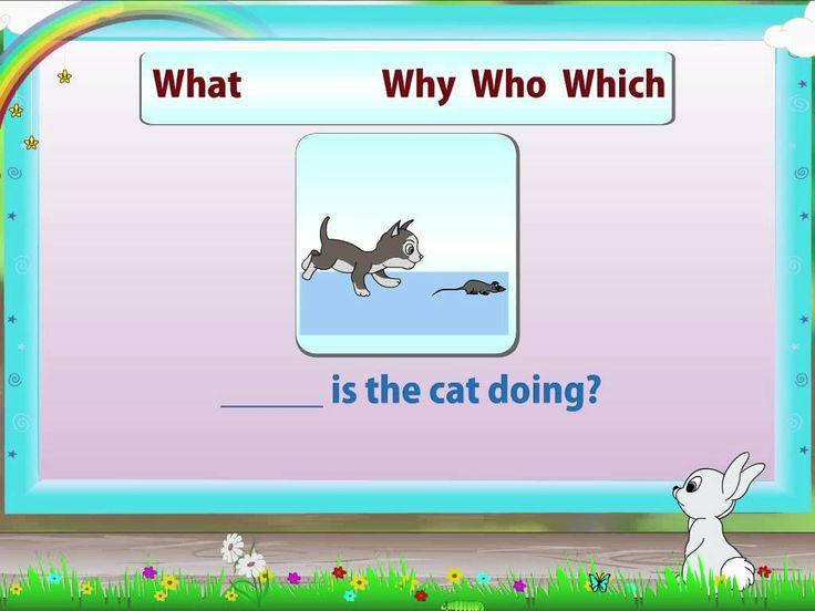 English Grammar - Question Words
