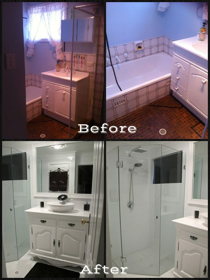 17 best images about transformed spaces on pinterest for D i y bathroom renovations