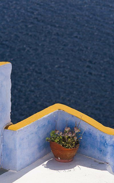Colors of Oia, Santorini Island, Greece (by Vasilis Tsikkinis on Flickr)  -  Selected by www.oiamansion.com Santorini