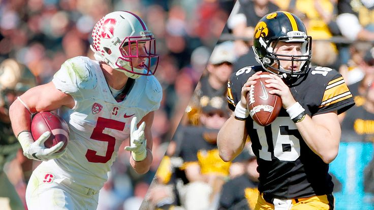 Rose Bowl Game Presented by Northwestern Mutual: No. 5 Iowa vs. No. 6 Stanford