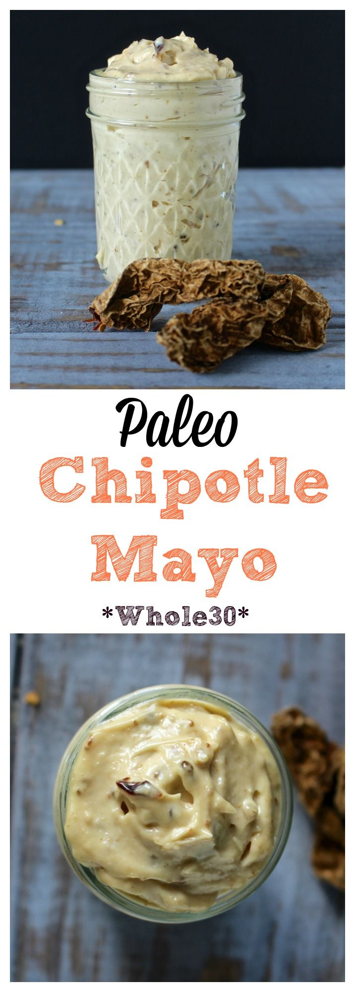 Paleo Chipotle Mayo- less than 5 minutes to make and so delicious! Whole30, gluten free, and lo carb.