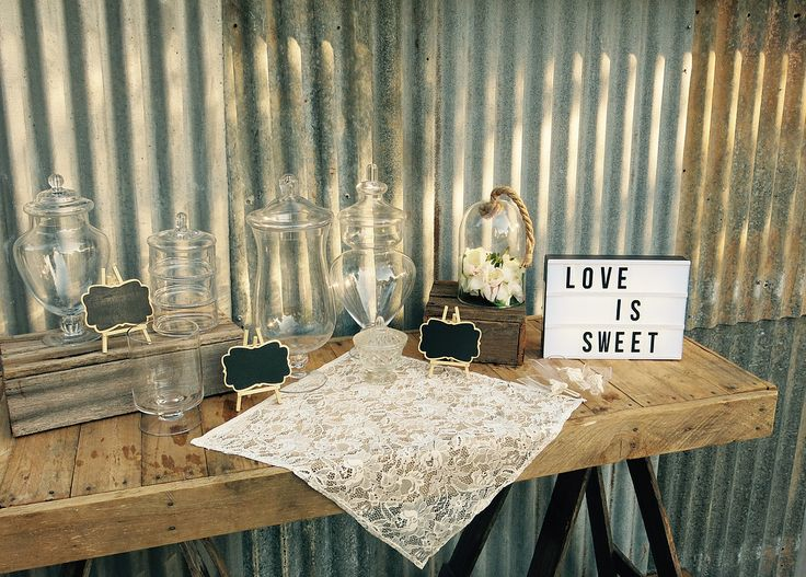 Rustic, Vintage Country style affordable Party packages for hire. Perfect for any wedding, birthday, christening, baby shower