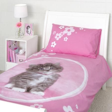 Rachael Hale So Sweet Kitten Duvet Single Bed Set Duvet