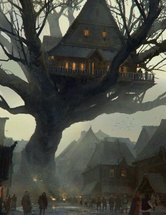 Auberge le Nest de la cité Haut-Monts, Pregale.