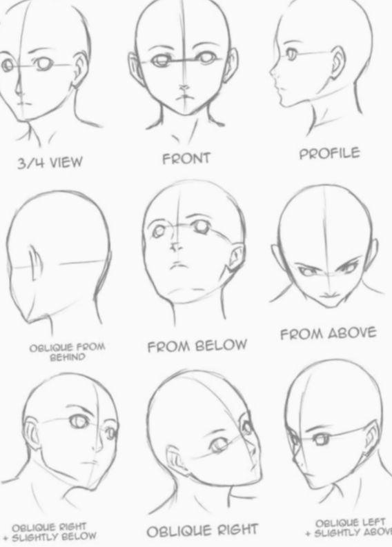 Pin By Feed On Cara Menggambar In 2020 Art Drawings Sketches Drawing Tutorial Drawing Heads
