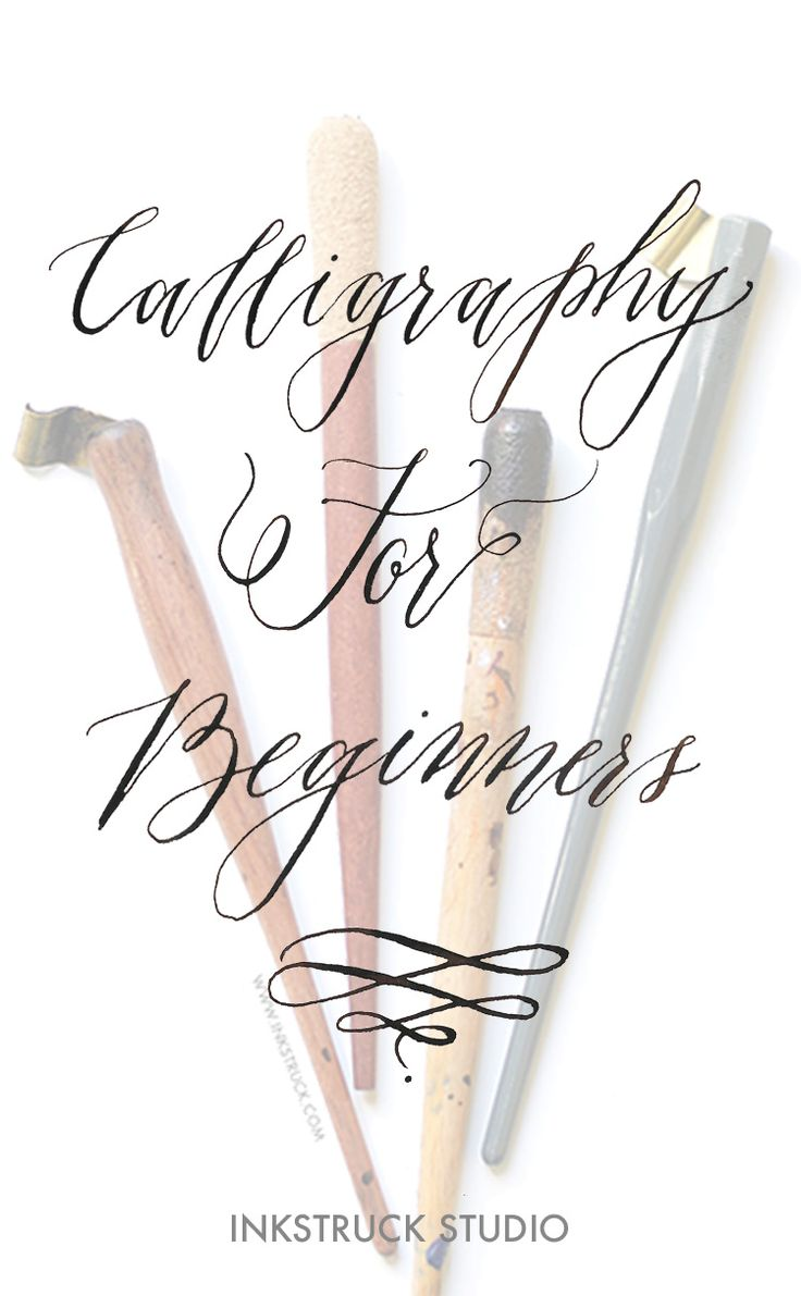 1000 ideas about calligraphy for beginners on pinterest Easy calligraphy pen