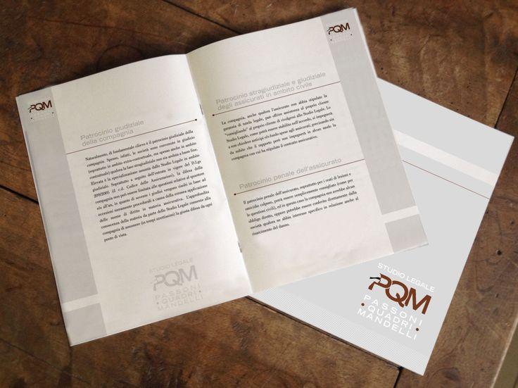fascicolo presentazione sociale personalizzato, cucitura punto metallico, supporto conqueror 2 grammature #avvocatimonza.it